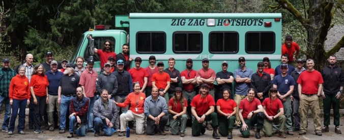 Zigzag Hotshot Barbeque w_Former Crewmates_4_19_19